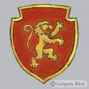 Harry Potter, blason Gryffondor