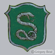 Harry Potter, blason Serpentard
